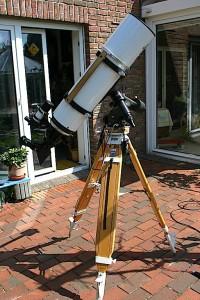 Teleskop für Weißlichtaufnahmen