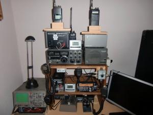 Meine Funkstation. Rufzeichen DJ4TT