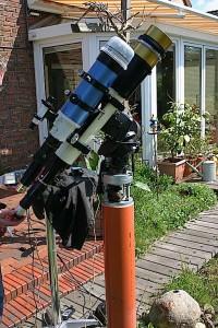 Teleskop für H-alpha