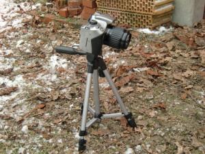 Canon EOS 300D mit Oppilas Funkfernauslöser.