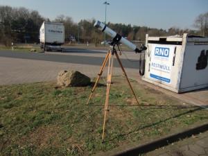Teleskop für Weißlicht-Aufnahmen