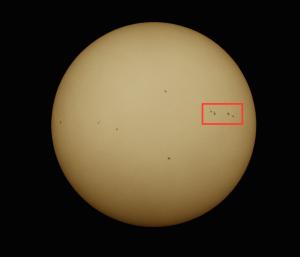 Sonne am 14.05.2015